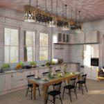 Illuminer sa cuisine grâce au lustre industriel